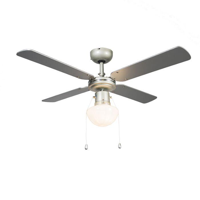 Ventilateur-plafond-gris-argenté---Wind-42