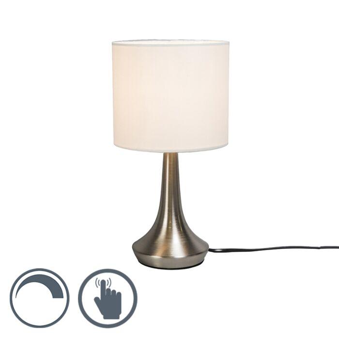 Lampe-de-table-Milo-1-rond-blanche