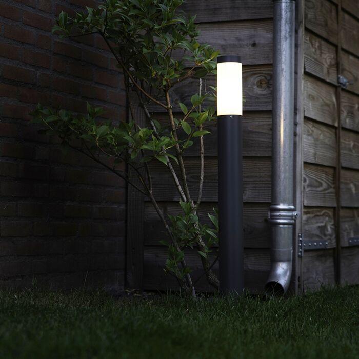 Lampadaire-d'extérieur-anthracite-80-cm-IP44---Rox