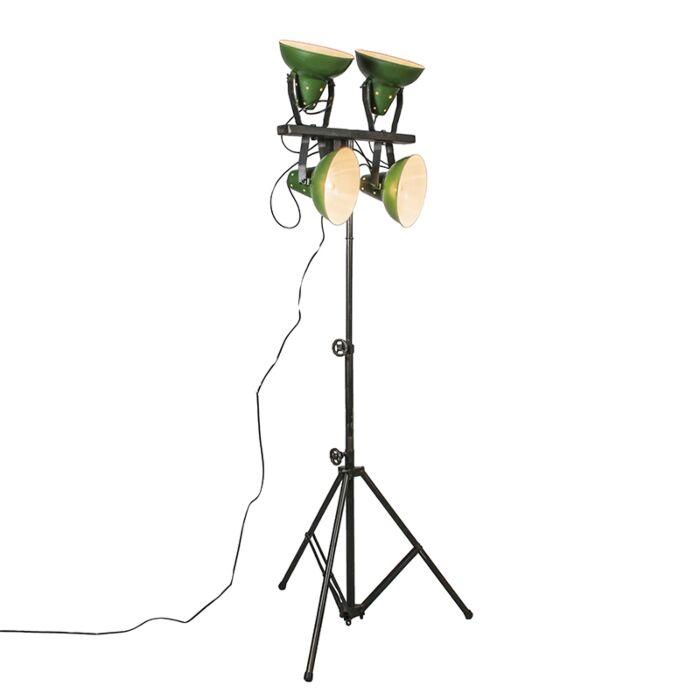 Lampadaire-Pedestal-vert