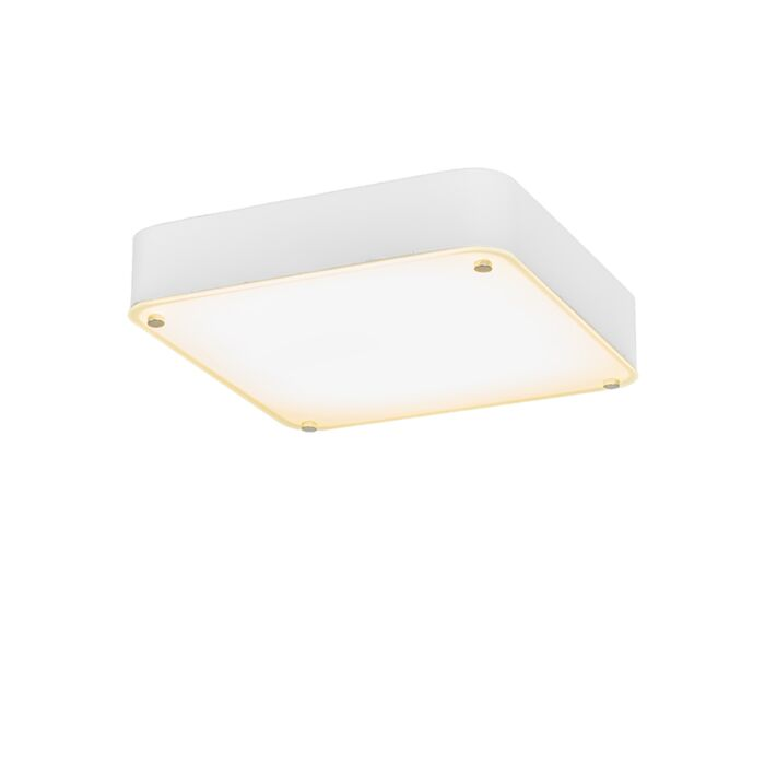 Plafonnier-Dream-35-cm-carré-blanc