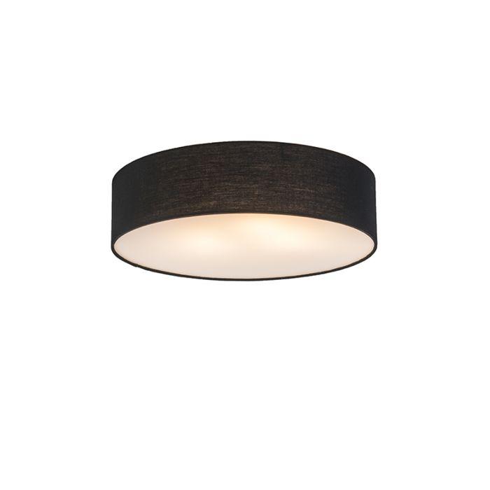 Plafonnier-Drum-Basic-40-noir