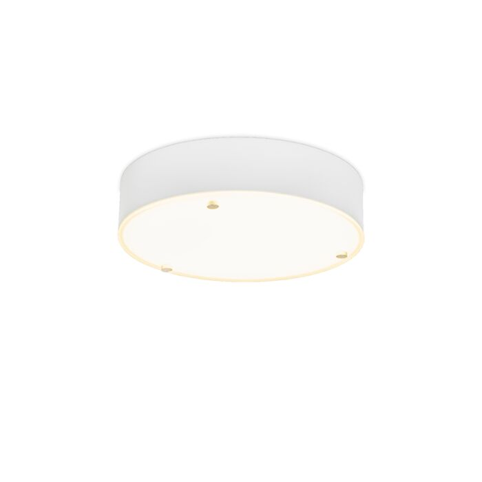 Plafonnier-Dream-30-cm-rond-blanc