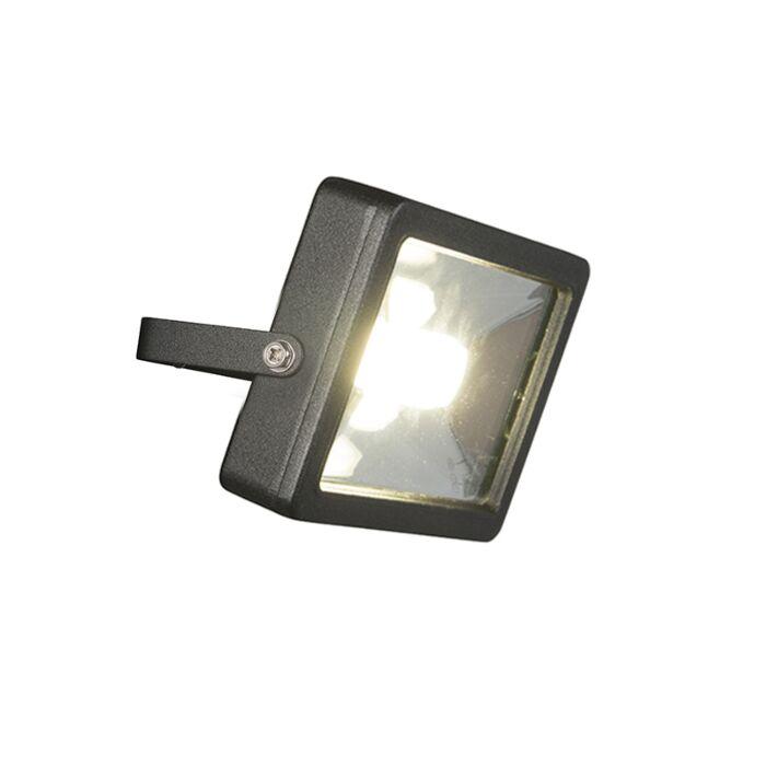 Radiateur-moderne-noir-avec-LED-30W---Telix