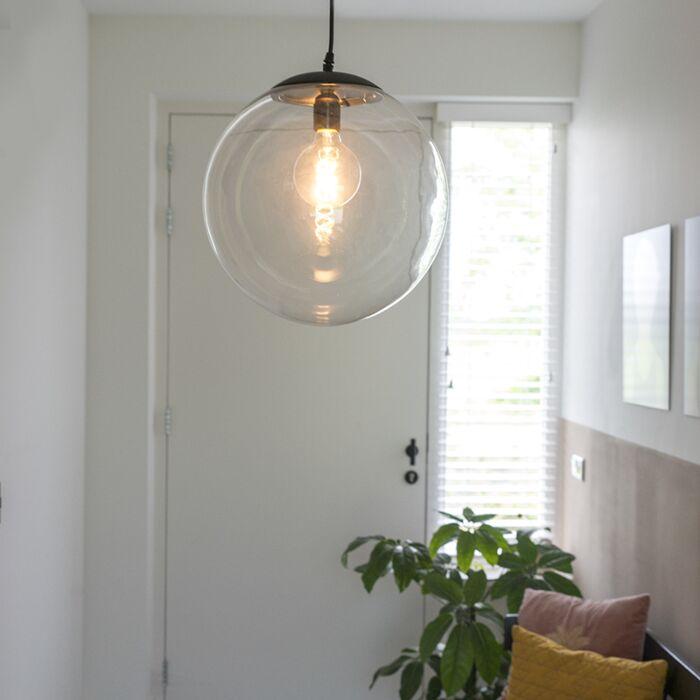 Suspension-moderne-transparente-35-cm---Pallon