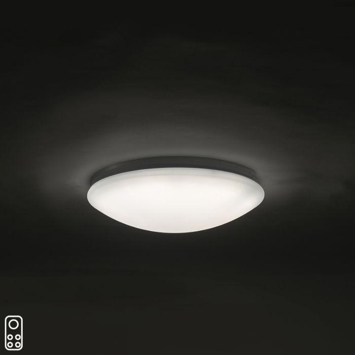 Plafonnier-40-cm-avec-LED-et-télécommande---Extrema