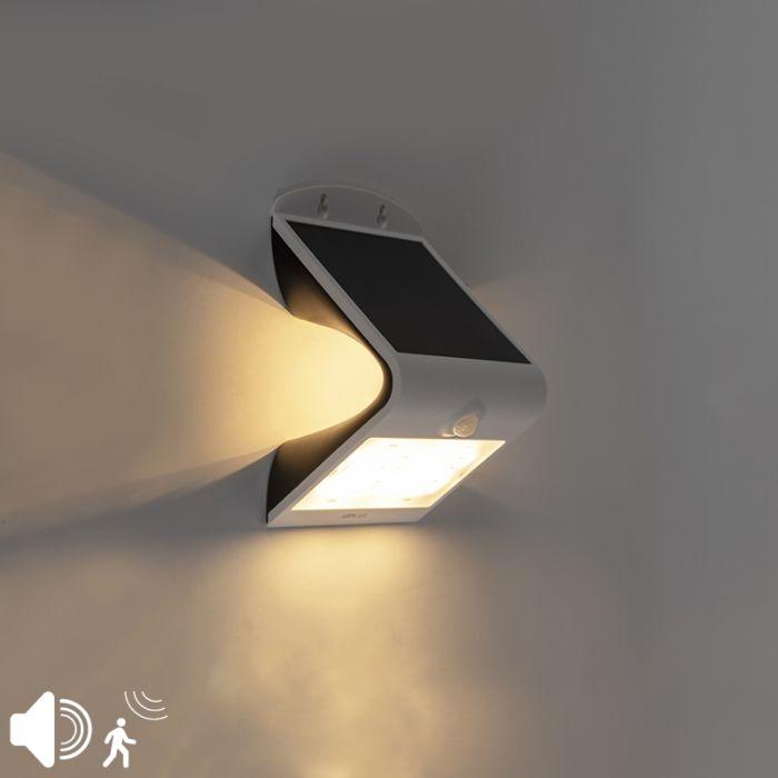 Projecteur-blanc-IP65-avec-LED-et-capteur-de-mouvement-3,2W---Daya
