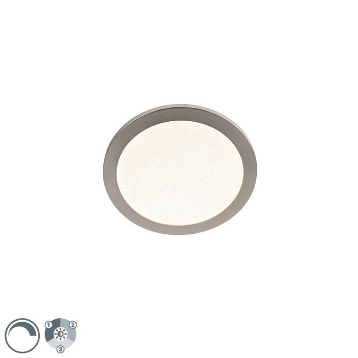 Plafonnier-IP44-dimmable-en-3-étapes-avec-LED-30-cm---Steve