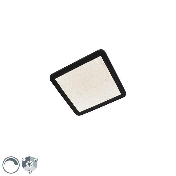 Plafonnier-IP44-dimmable-en-3-étapes-avec-LED-27,6-cm---Steve