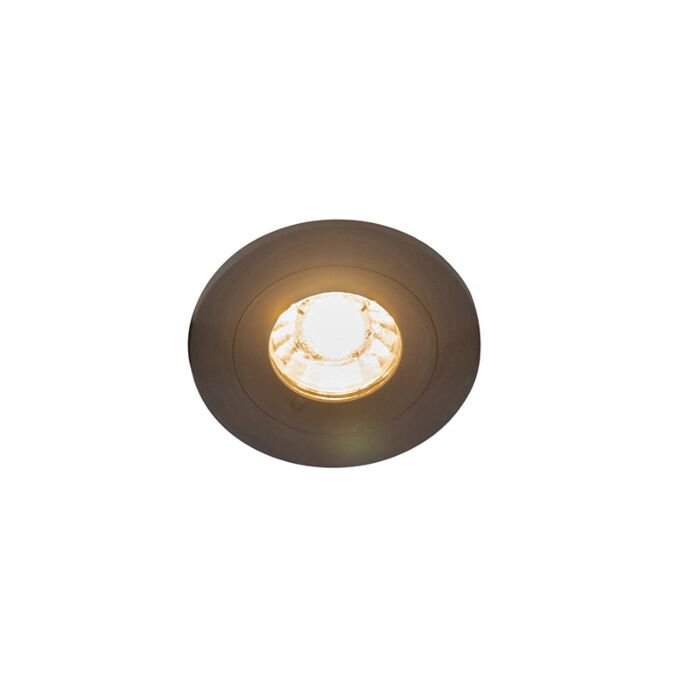 Spot-encastrable-moderne-noir-IP44---Xena-Round