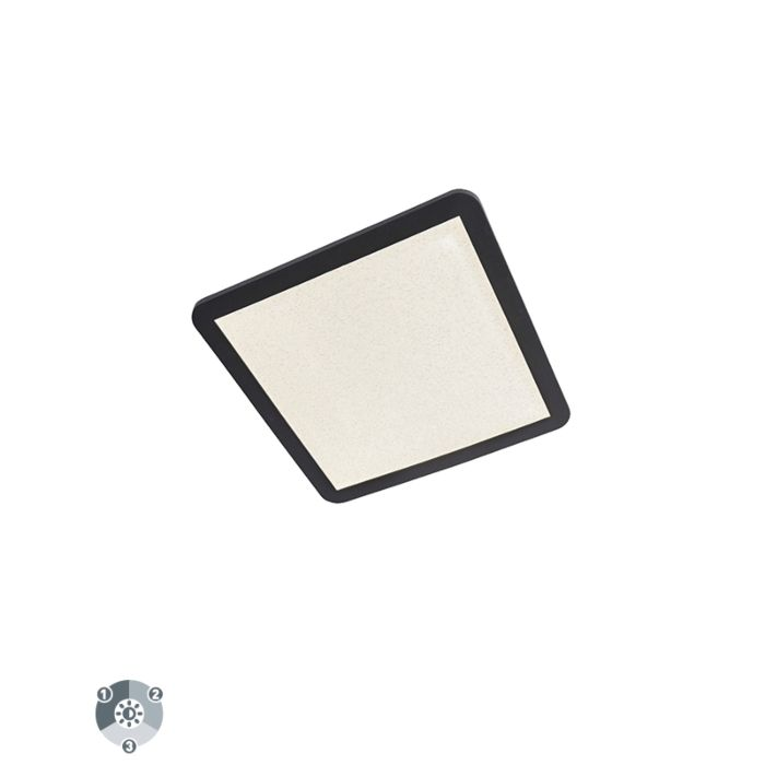Plafonnier-IP44-dimmable-en-3-étapes-avec-LED-40-cm---Steve
