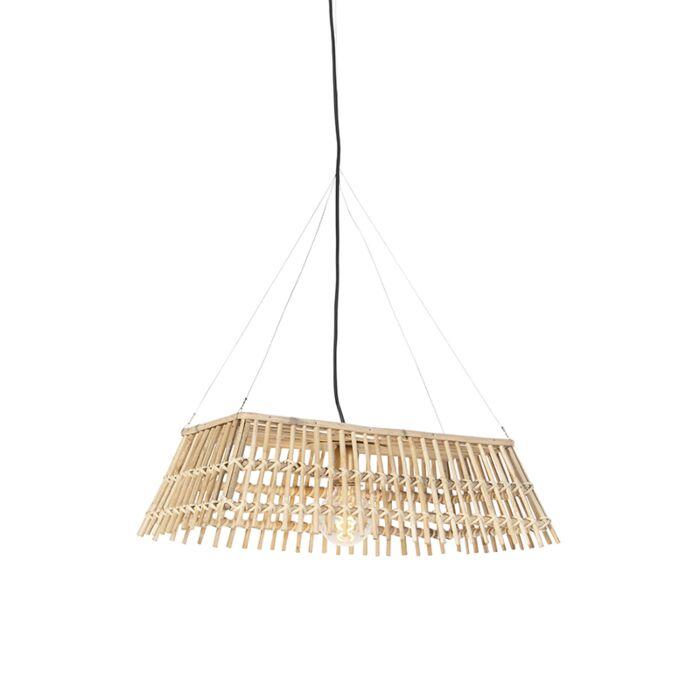 Lampe-suspendue-nationale-en-bambou---Cane-Recta