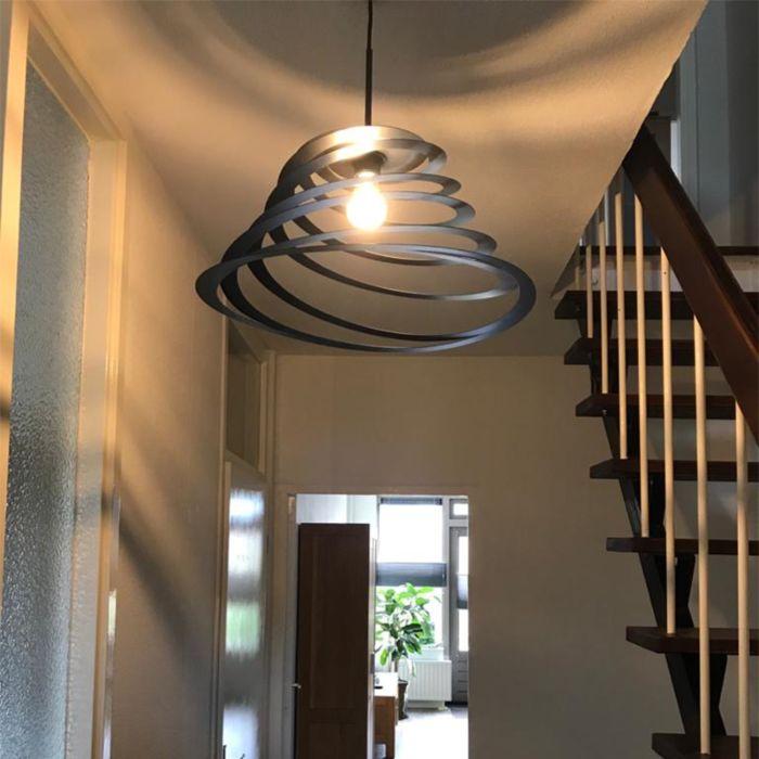 Lampe-à-suspension-design-avec-abat-jour-en-spirale-50-cm---Scroll