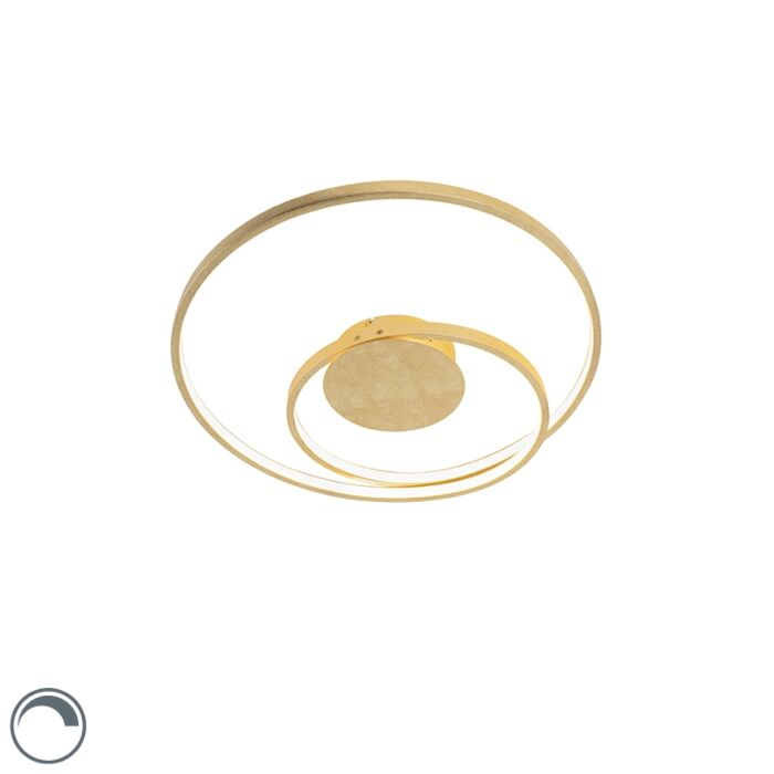 Plafonnier-Art-Deco-or-dimmable-LED-incl.---Rowan