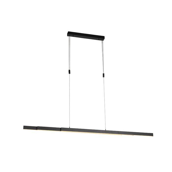 Lampe-à-suspension-anthracite-avec-LED-et-variateur-réglable---Juliet